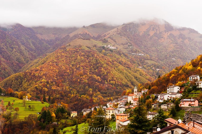 Ticino in autumn