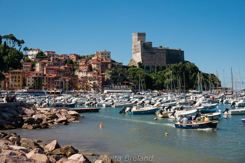 Lerici harbor, Liguria
