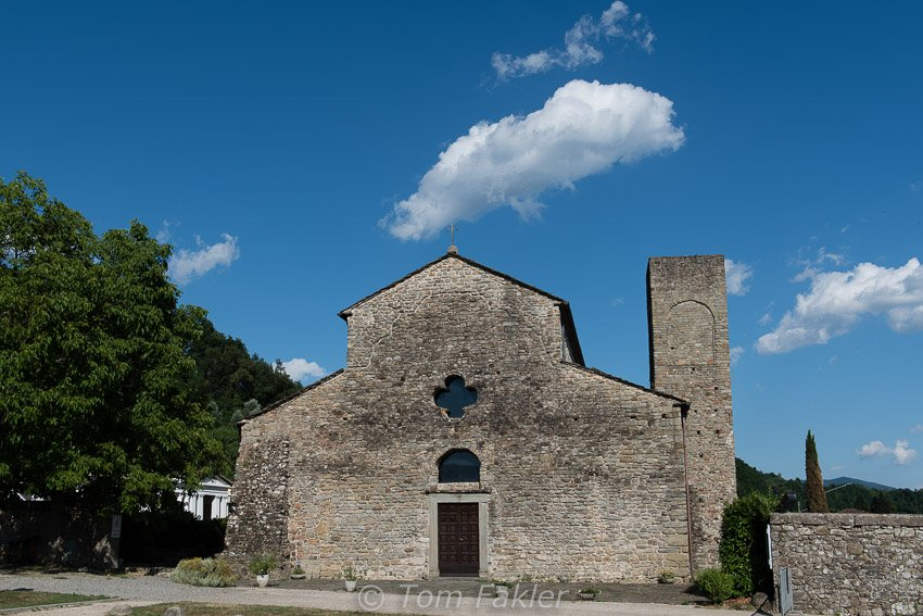The church of Santo Stefano in Sorano, Lunigiana