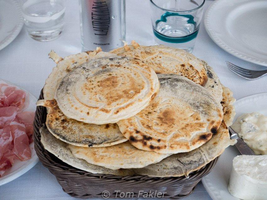 Panigacci, a Lunigiana specialty
