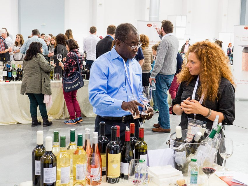 Wine tasting at DWCC2015 in Plovdiv, Bulgaria