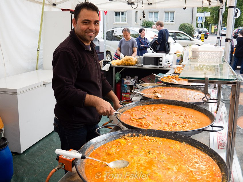 Kumar's Indian Food, at Street Food Festival Basel 2015