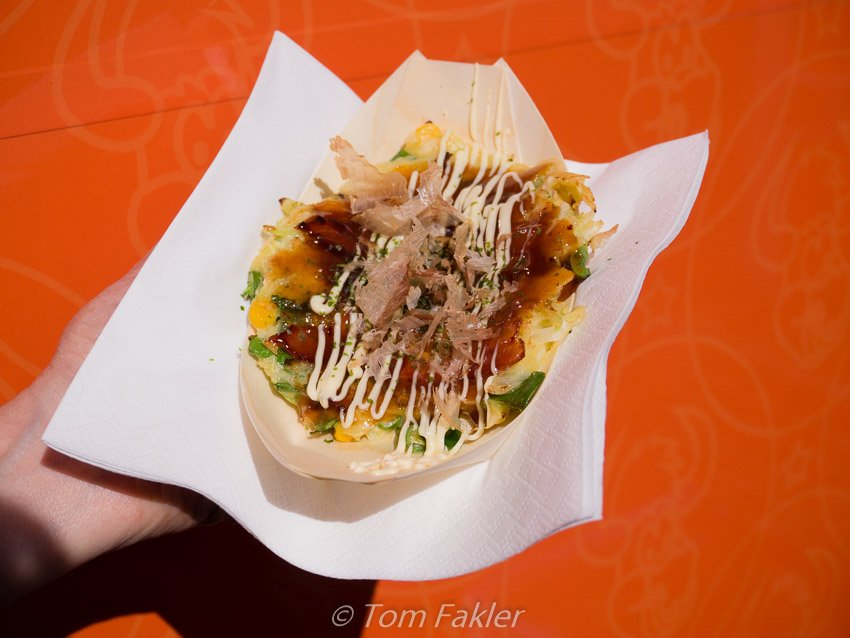 Okonamiyaki at Street Food Festival Basel 2015