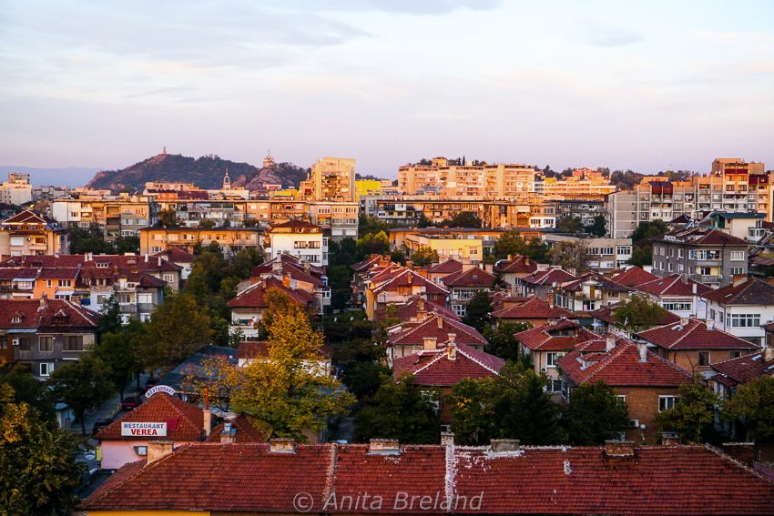 Plovdiv rooftops
