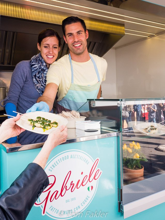 Gabriele Streetfood at Street Food Festival Basel