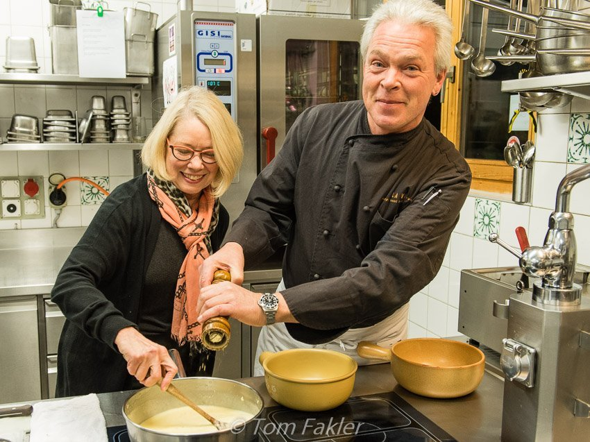 Stirring the pot in Graubunden
