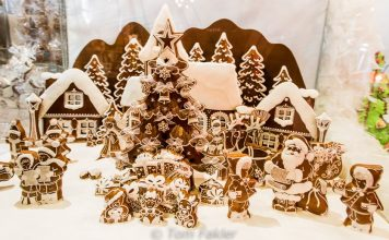 Gingerbread village in Colmar
