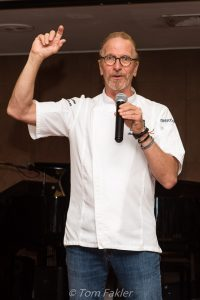 Chef Michel Nischan on the Wind Surf