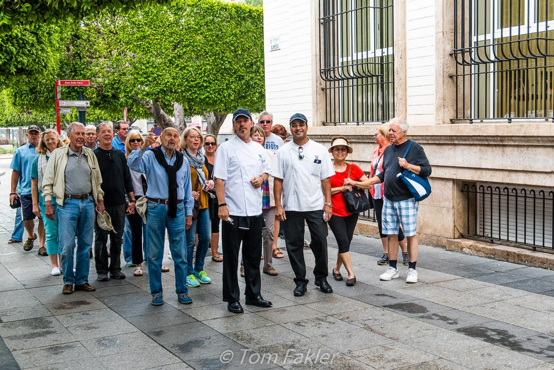 Market visit in Almeria, Spain with Chef Olven