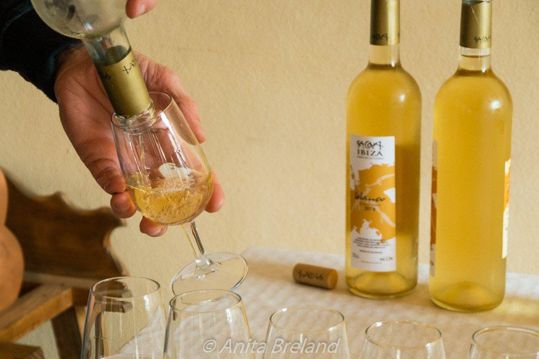 Wine tasting in Ibiza, Spain