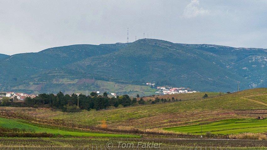 Montejunto mountain range