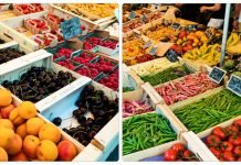market day in Luberon