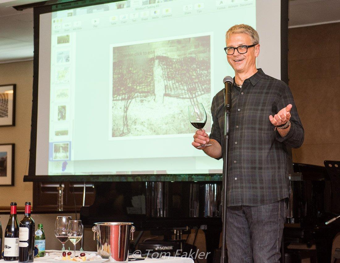 Steve Olson talking about wines of Spain