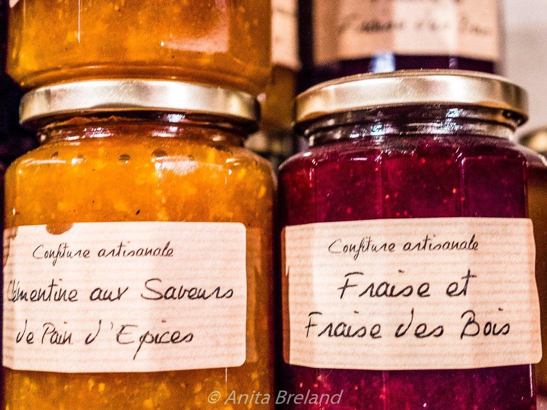 Handmade jams