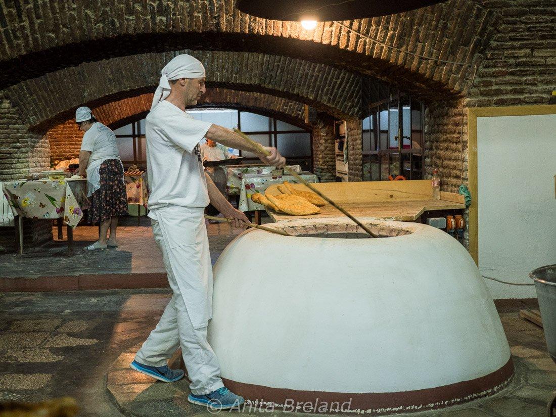 Baker in Tbilisi