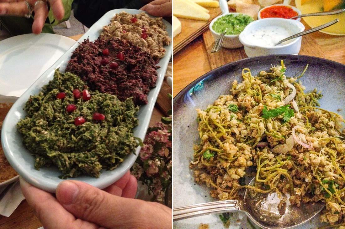Pkhali salad