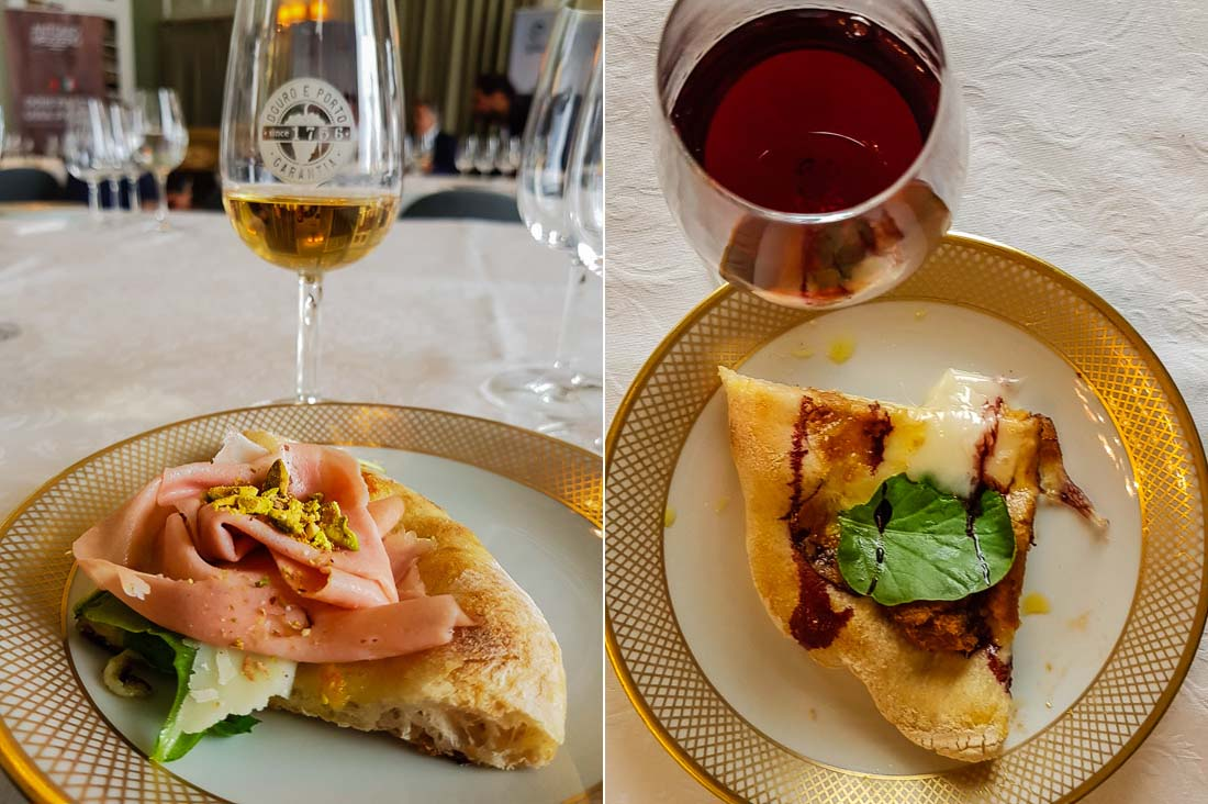 Port Wine Day pizza and wine pairings