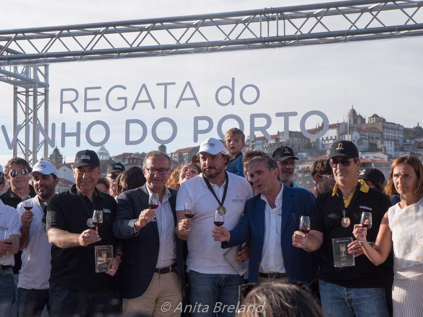 Port Wine Day regatta award ceremony