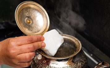 Sugar for your mint tea?