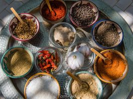 Moroccan ingredients