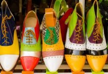 Designer shoes in Hoi An, Vietnam