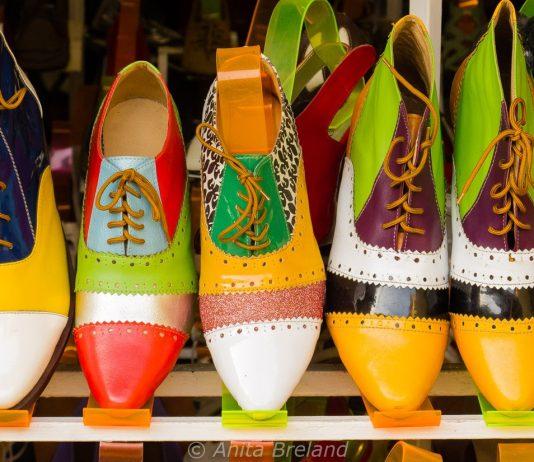 Designer shoes in Hoi An, Vietnam
