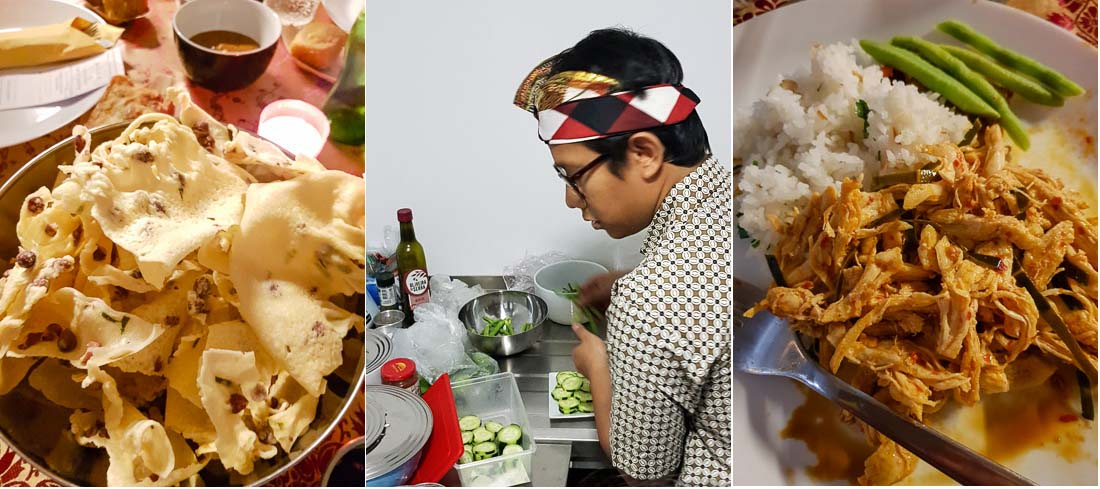 Indonesian pop-up kitchen