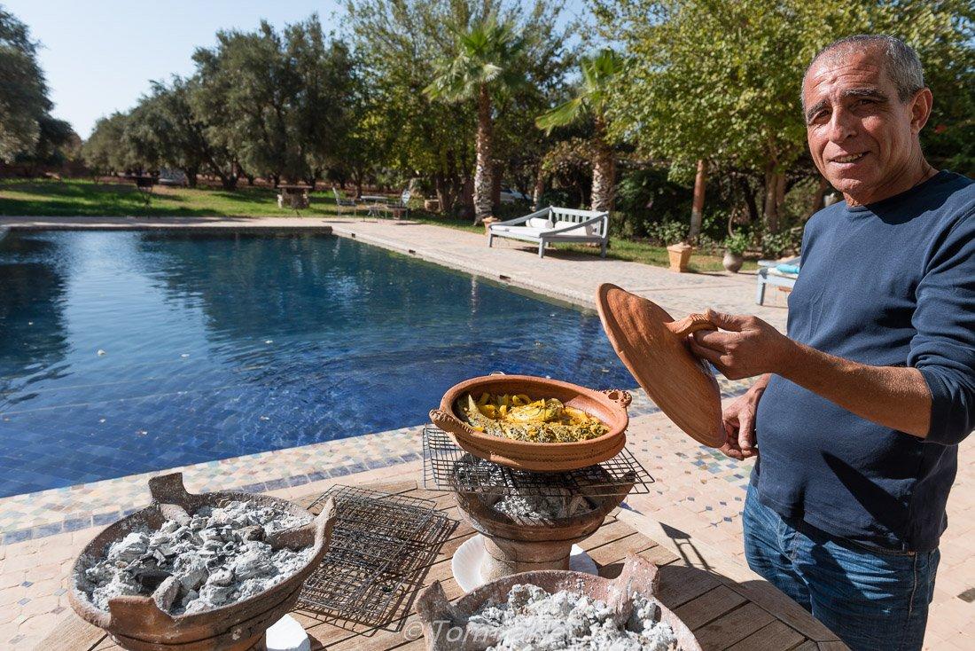 Chef Fouad Belmamoun of Ourika Organic Kitchen and Gardens