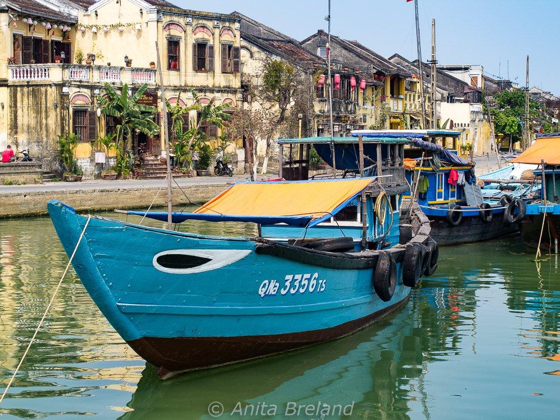 Quayside in Hoi An, Vietnam