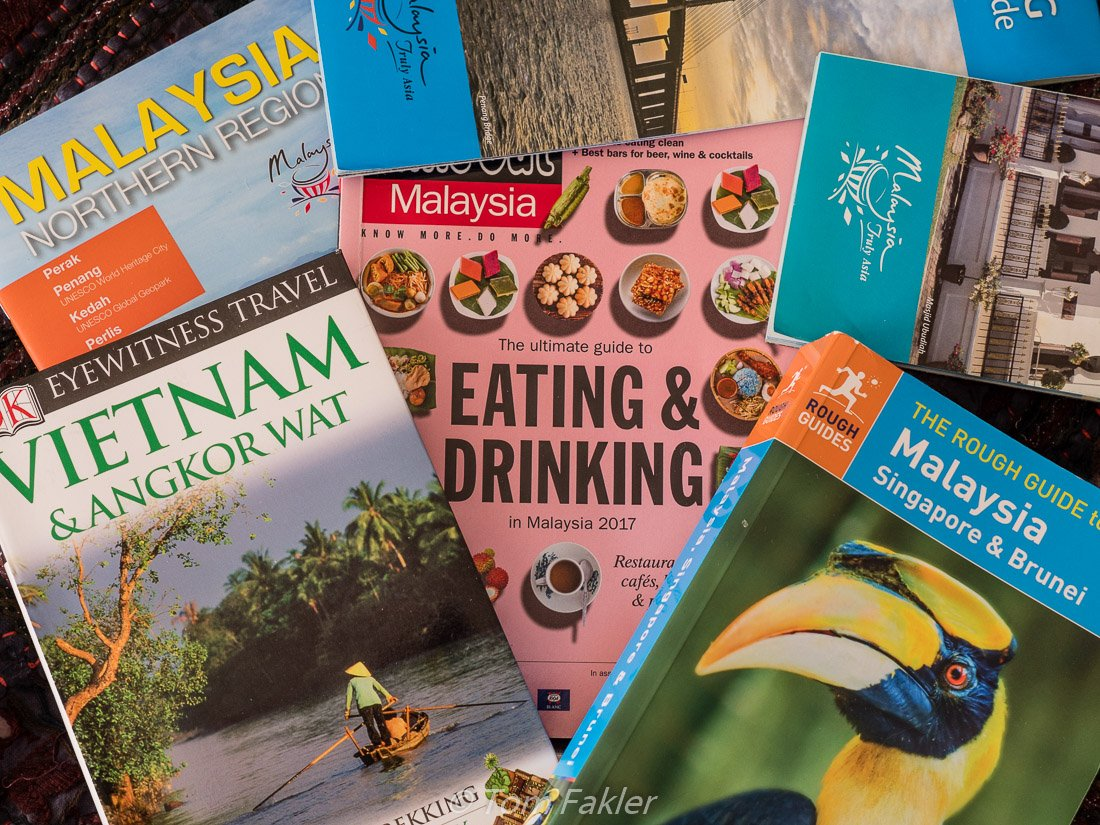 Southeast Asia guidebooks