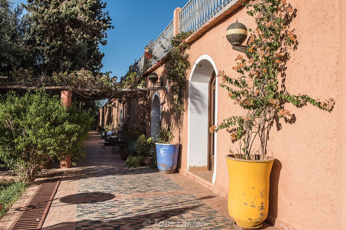 Boutique cooking with cooking classes, near Marrakech, Morocco