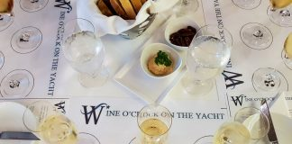 Wine O'Clock on a Windstar yacht