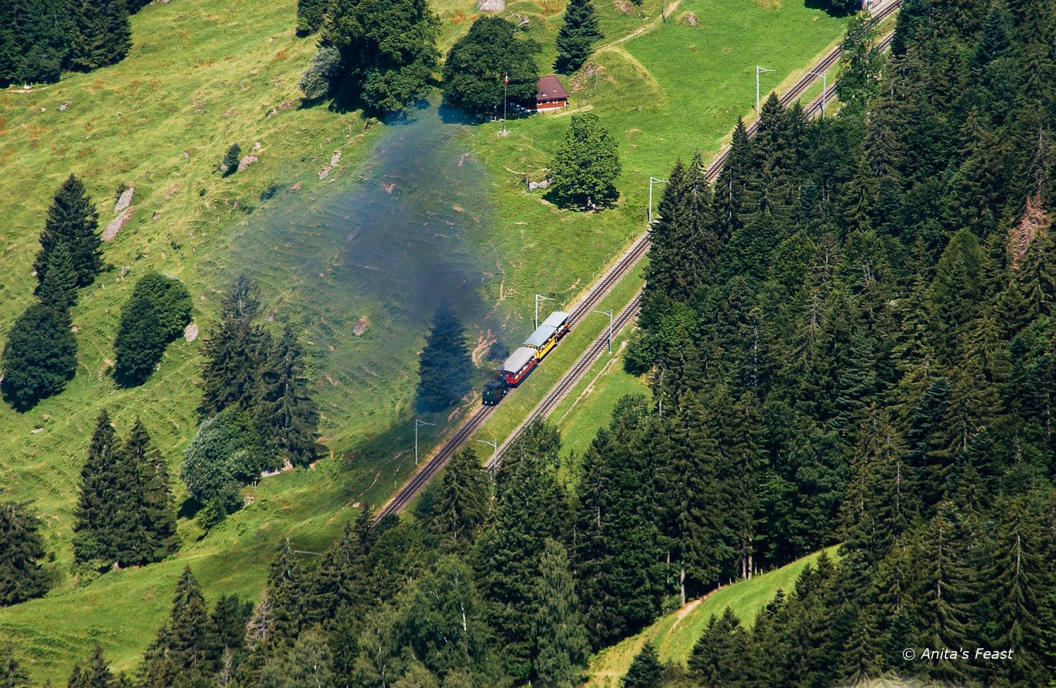 Rigi Bahnen Lake Lucerne Switzerland
