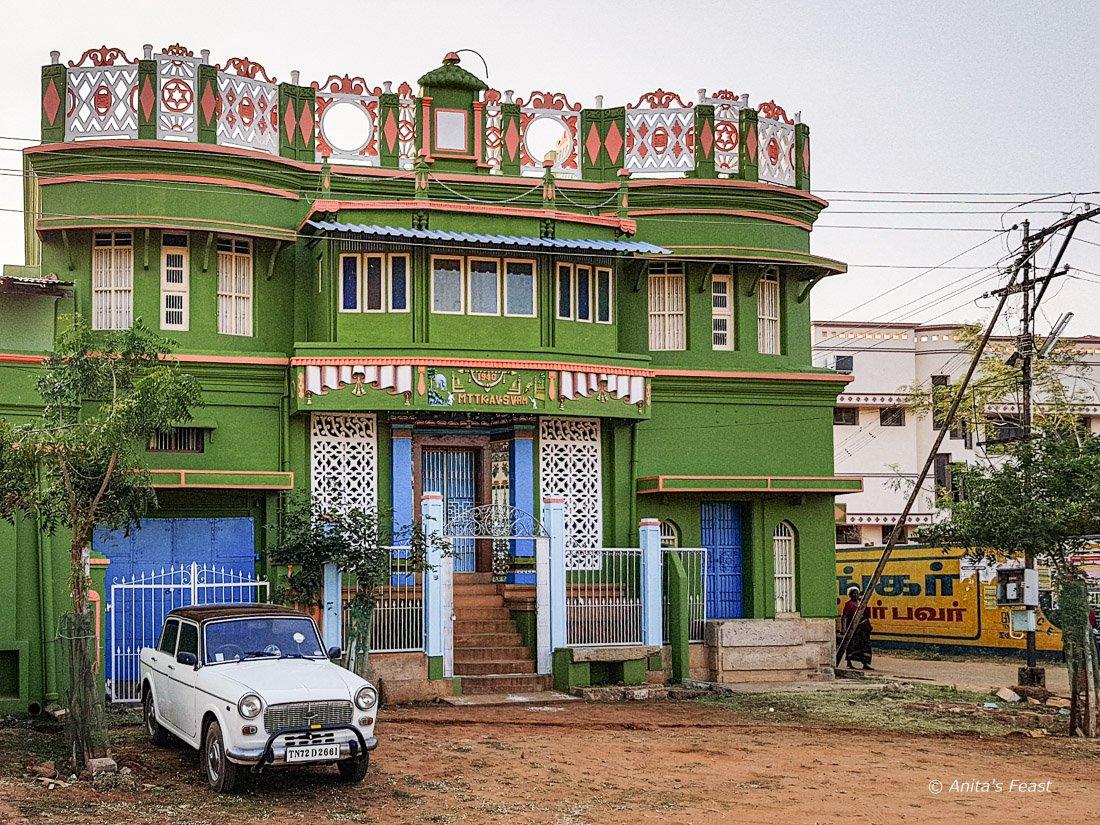 Heritage building in Nattarasankottai