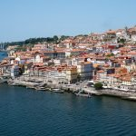 View of Porto Portugal from Gaia