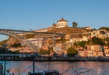 View across the Douro at Porto