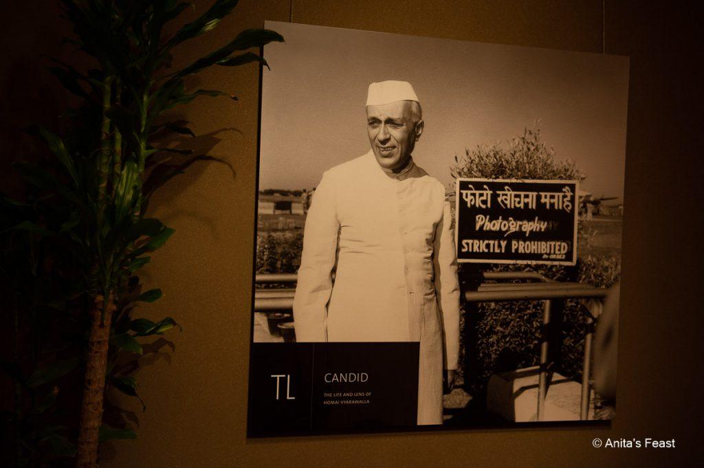 Jawaharlal Nehru, photographed by Homai Vyarawalla