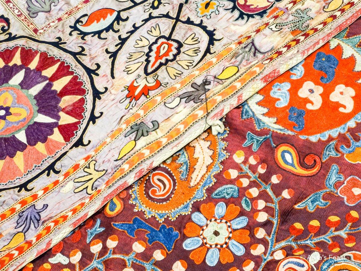 Uzbek suzanis, old and new